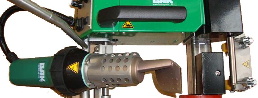 Overlap Welder model Roofon R-edge 40mm