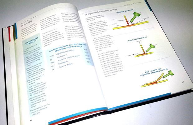 Plastics Fix Training Text Book Plastic Welding Tools